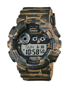 Ρολόι CASIO G-SHOCK Digital Camouflage  GD-120CM-5ER