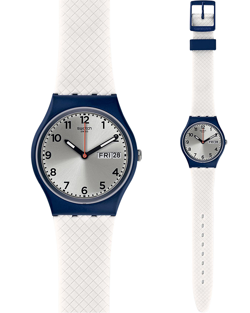 Ρολόι SWATCH White Delight GN720   brands swatch