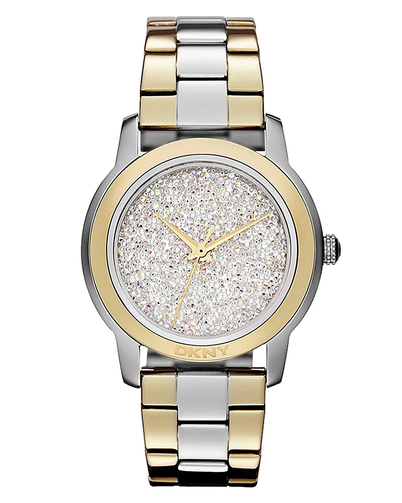Ρολόι DKNY Crystal Two-Tone NY8777   brands dkny