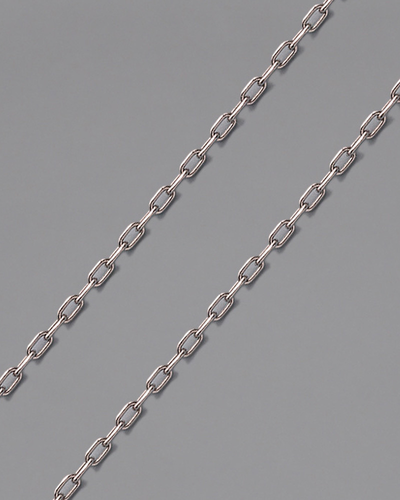 Αλυσίδα λαιμού λευκόχρυση Κ14 55cm   παιδι αλυσίδες λαιμού αλυσίδες λευκόχρυσες