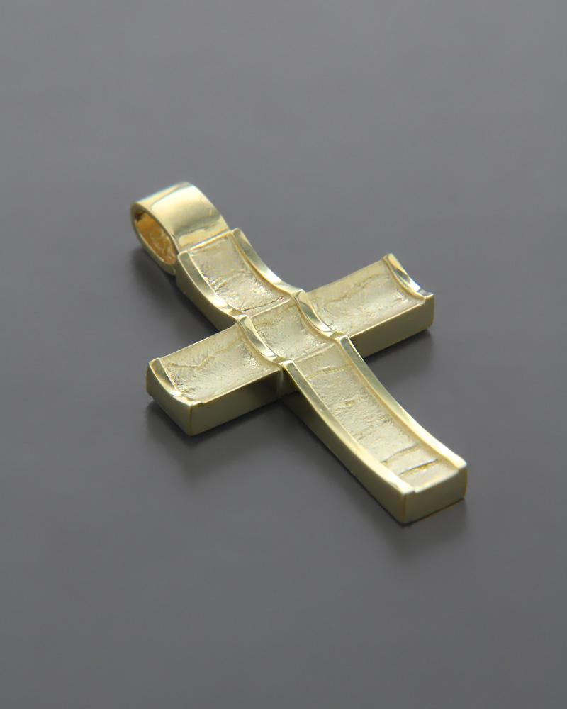 Σταυρός χρυσός K14   παιδι βαπτιστικοί σταυροί βαπτιστικοί σταυροί για αγόρι