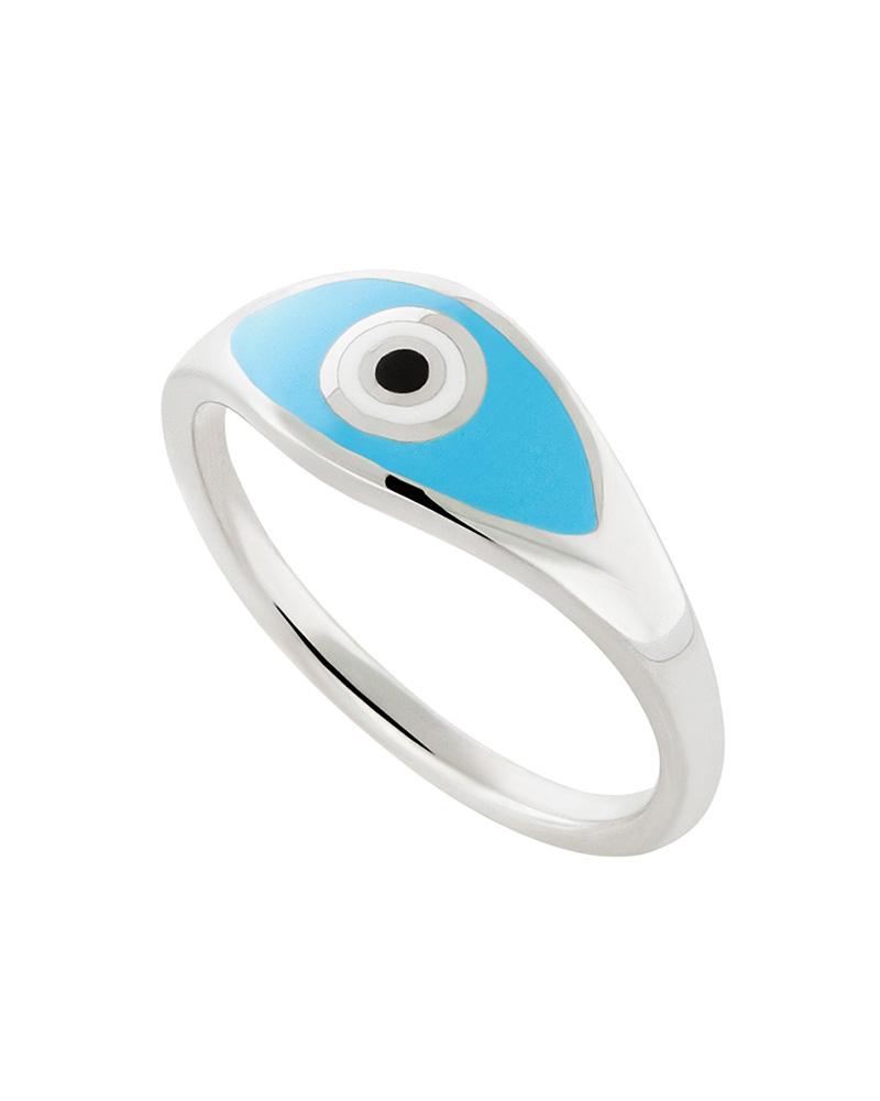 HONOR Δαχτυλίδι ασημένιο Eye R019A   brands honor