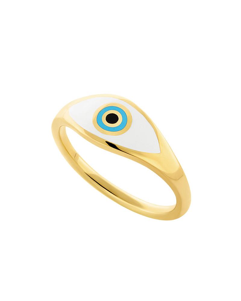 HONOR Δαχτυλίδι ασημένιο Eye R021A   γυναικα δαχτυλίδια δαχτυλίδια ασημένια