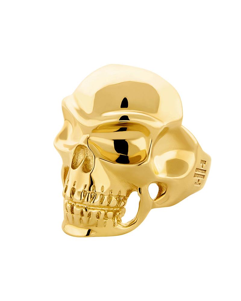 HONOR Δαχτυλίδι ασημένιο Skull R030A   γυναικα δαχτυλίδια δαχτυλίδια ασημένια