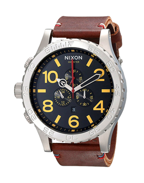 Ρολόι Nixon Chrono Leather A124-019-00