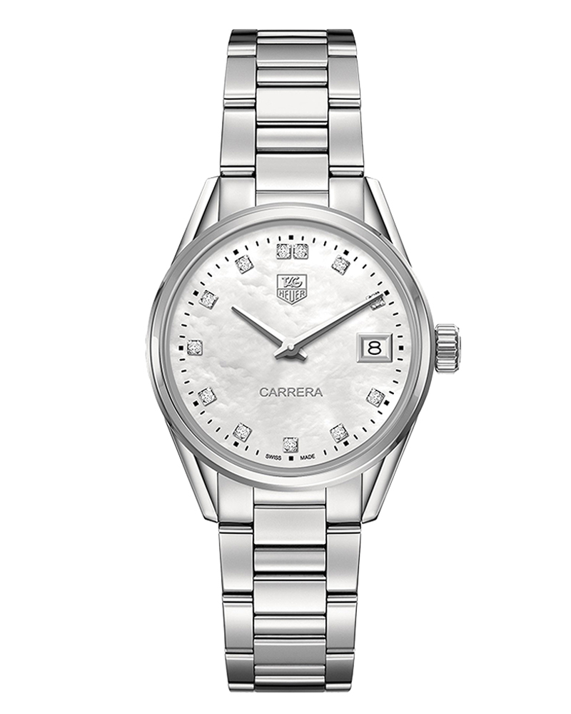 Ρολόι TAG HEUER Carrera Ladies Diamonds WAR1314.BA0778   brands tag heuer