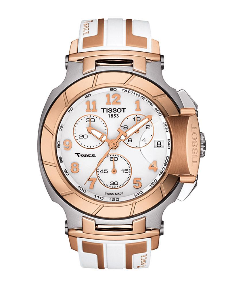 Ρολόι Tissot T-Race White Chronograph T0484172701200   brands tissot t sport