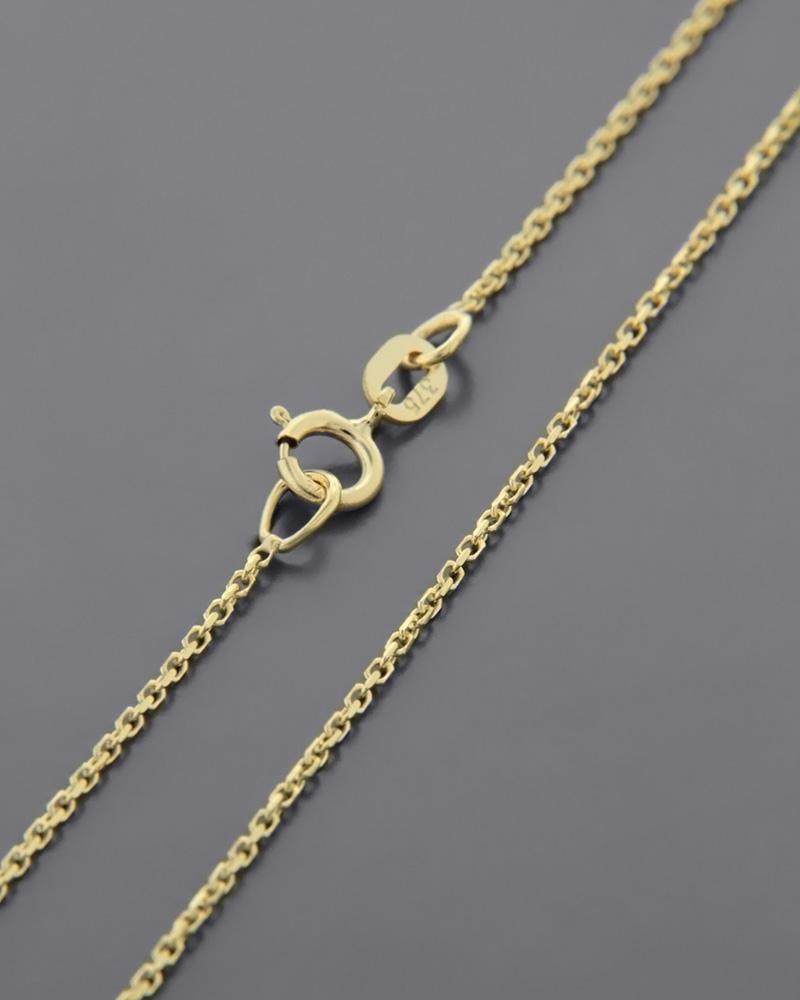 Αλυσίδα λαιμού χρυσή Κ9 45cm ROLO/020K   γυναικα αλυσίδες λαιμού αλυσίδες χρυσές