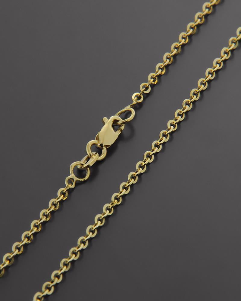 Αλυσίδα χρυσή Κ14 40cm   παιδι αλυσίδες λαιμού αλυσίδες χρυσές