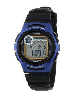 Ρολόι Casio Collection Digital Blue W-213-2AVES