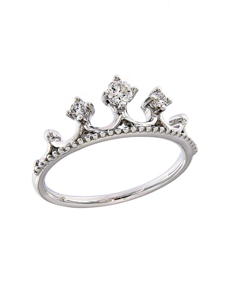 Δαχτυλίδι midi finger λευκόχρυσο Κ18 με Διαμάντια   γυναικα δαχτυλίδια δαχτυλίδια λευκόχρυσα