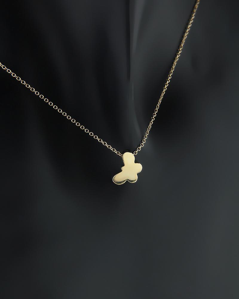 Κολιέ πεταλούδα χρυσό Κ14   γυναικα κρεμαστά κολιέ κρεμαστά κολιέ χρυσά