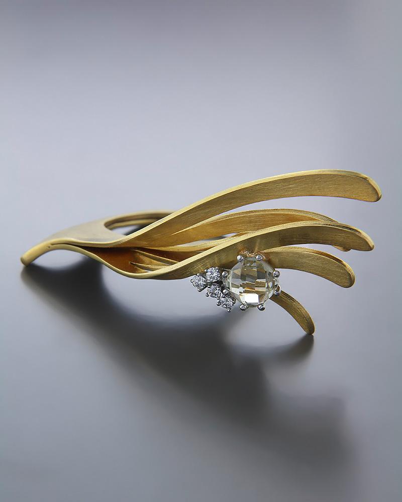 Χειροποίητο Δαχτυλίδι χρυσό Κ14 με Ζιργκόν   κοσμηματα δαχτυλίδια δαχτυλίδια fashion