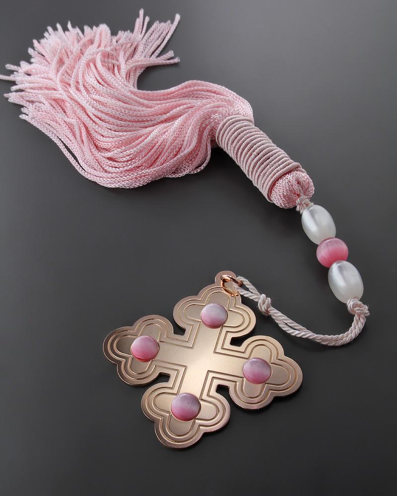 Διακοσμητικό κρεμαστό γούρι με σταυρό   δωρα γούρια