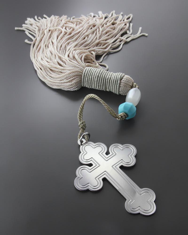 Διακοσμητικό κρεμαστό γούρι με σταυρό για σπίτι   δωρα γούρια