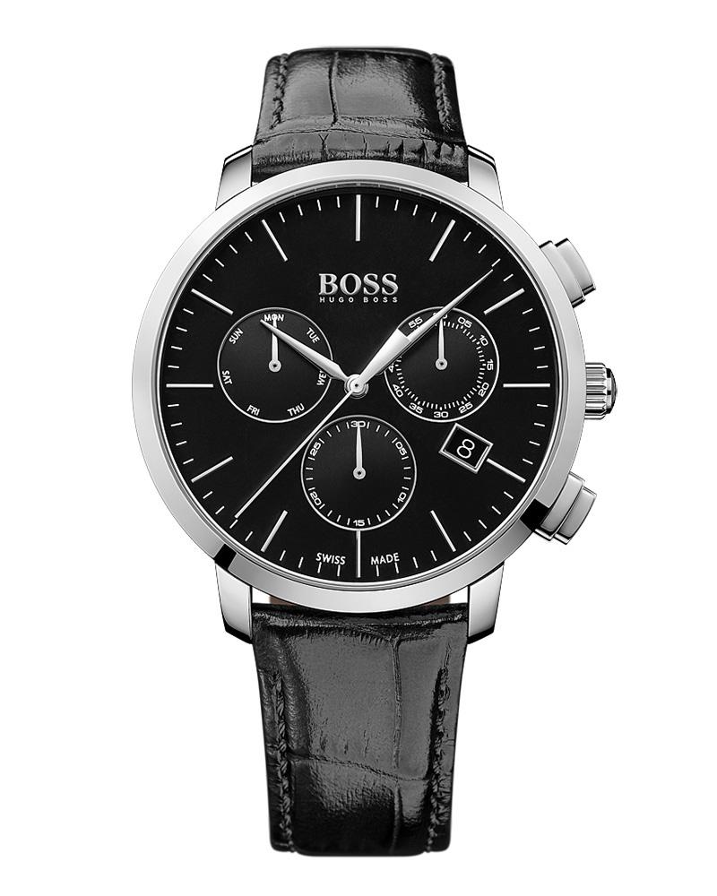 Ρολόι BOSS Signature Chronograph 1513266   προσφορεσ ρολόγια ρολόγια πάνω απο 500ε