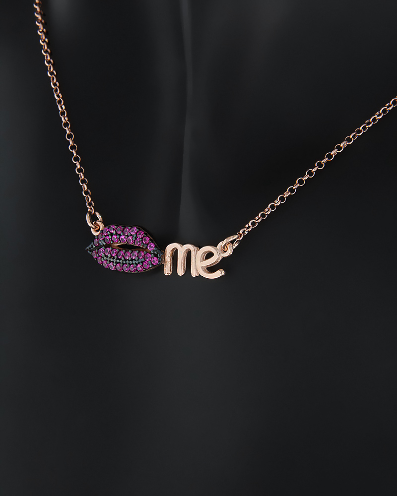 Fashion κολιέ από Ασήμι 925 με Ζιργκόν   κοσμηματα κρεμαστά κολιέ κρεμαστά κολιέ καρδιές