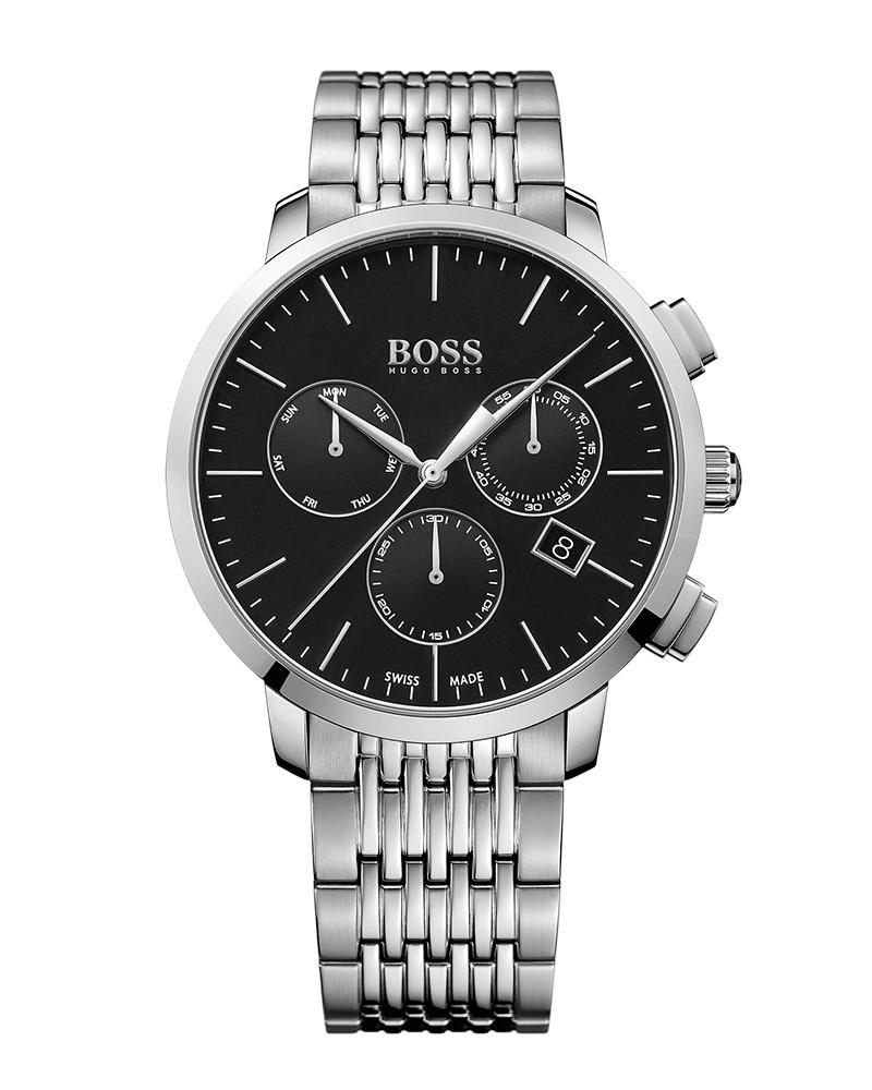 Ρολόι BOSS Signature Chronograph 1513267   προσφορεσ ρολόγια ρολόγια πάνω απο 500ε