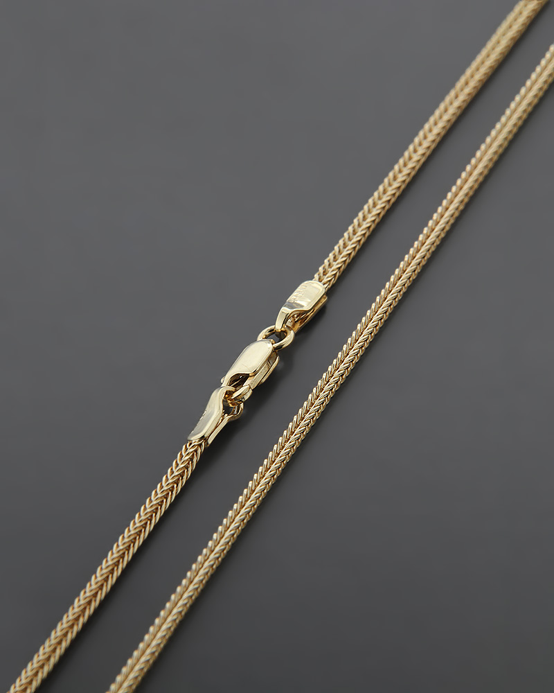 Αλυσίδα λαιμού χρυσή Κ18 60cm   παιδι αλυσίδες λαιμού αλυσίδες χρυσές