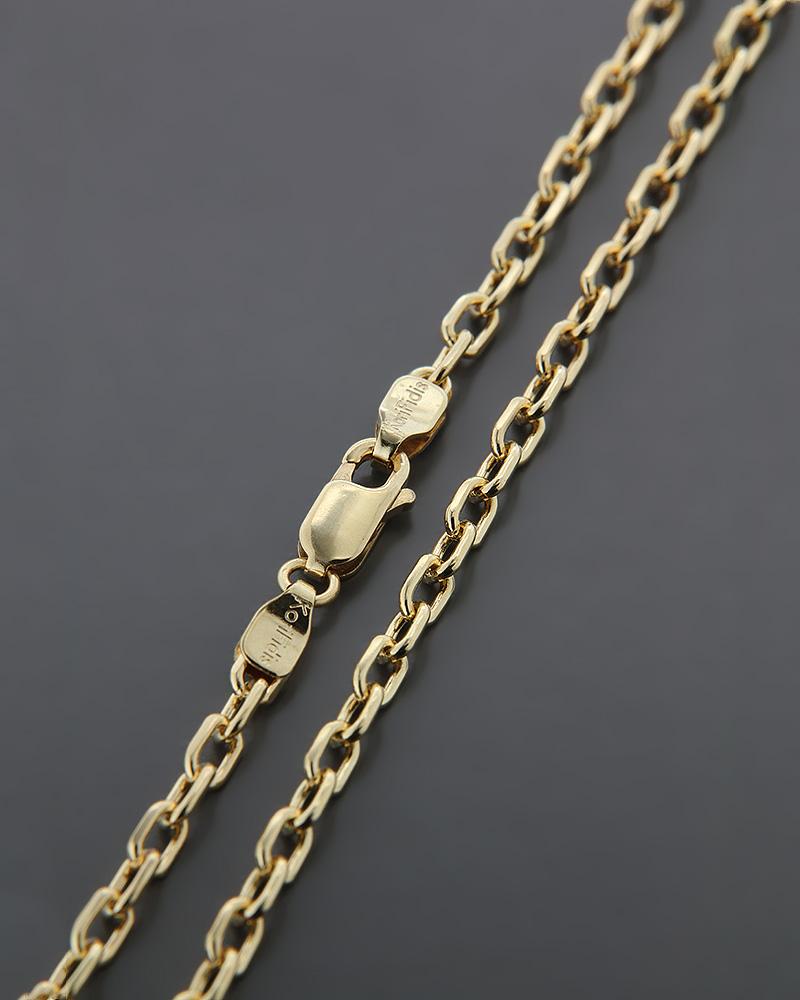 Αλυσίδα λαιμού χρυσή Κ14 60cm   παιδι αλυσίδες λαιμού αλυσίδες χρυσές