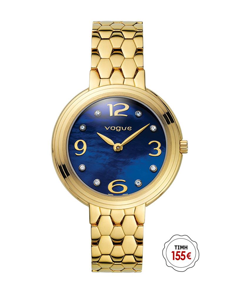 Ρολόι VOGUE Pretty Woman Gold 81049.2   brands vogue