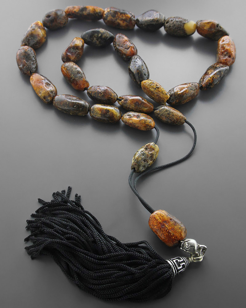 Κομπολόι από Κεχριμπάρι ορυκτό   δωρα κομπολόγια