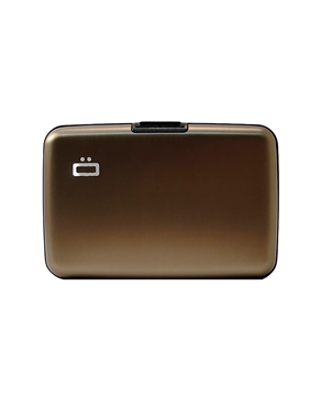 Ogon Stockholm Card Case Brown 3760127775980