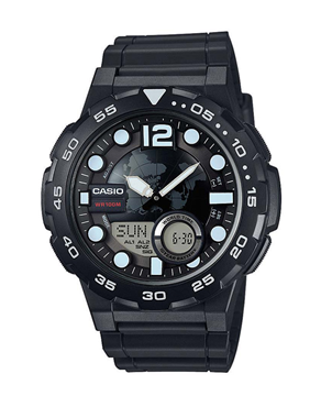 Ρολόι Casio Collection Standard AEQ-100W-1AVEF