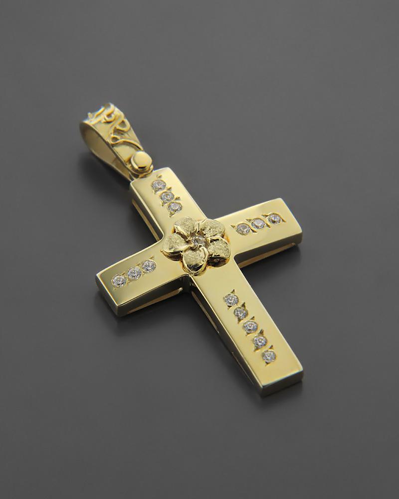 Σταυρός Βάπτισης Χρυσός Κ14   παιδι βαπτιστικοί σταυροί βαπτιστικοί σταυροί για κορίτσι