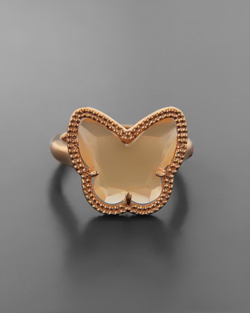Δαχτυλίδι ασημένιο 925 με quartz   γυναικα δαχτυλίδια δαχτυλίδια fashion