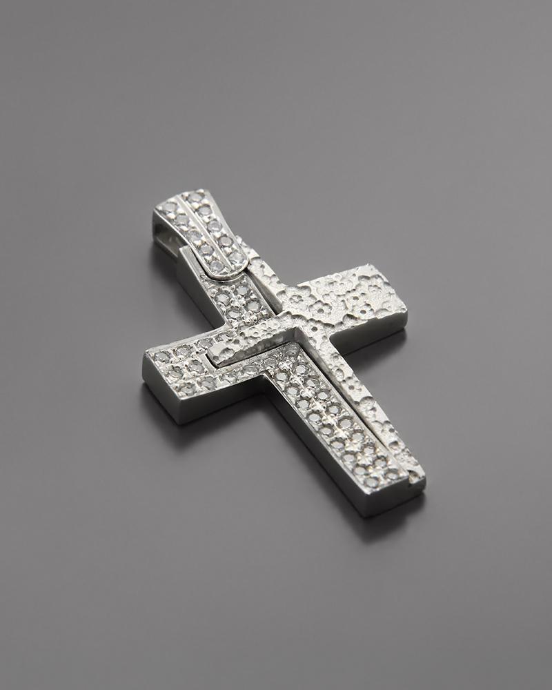 Σταυρός Βάπτισης Λευκόχρυσος Κ14   προσφορεσ βαπτιστικοί σταυροί