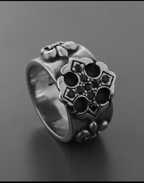Δαχτυλίδι από ατσάλι με ζιργκόν a3419921b83