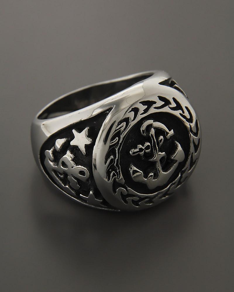 Δαχτυλίδι ανδρικό από ατσάλι   κοσμηματα δαχτυλίδια δαχτυλίδια ανδρικά