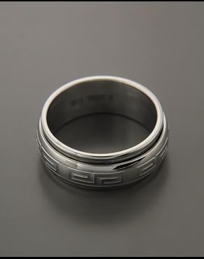 Ανδρικό Ατσάλινο Δαχτυλίδι e684f5f1e0a
