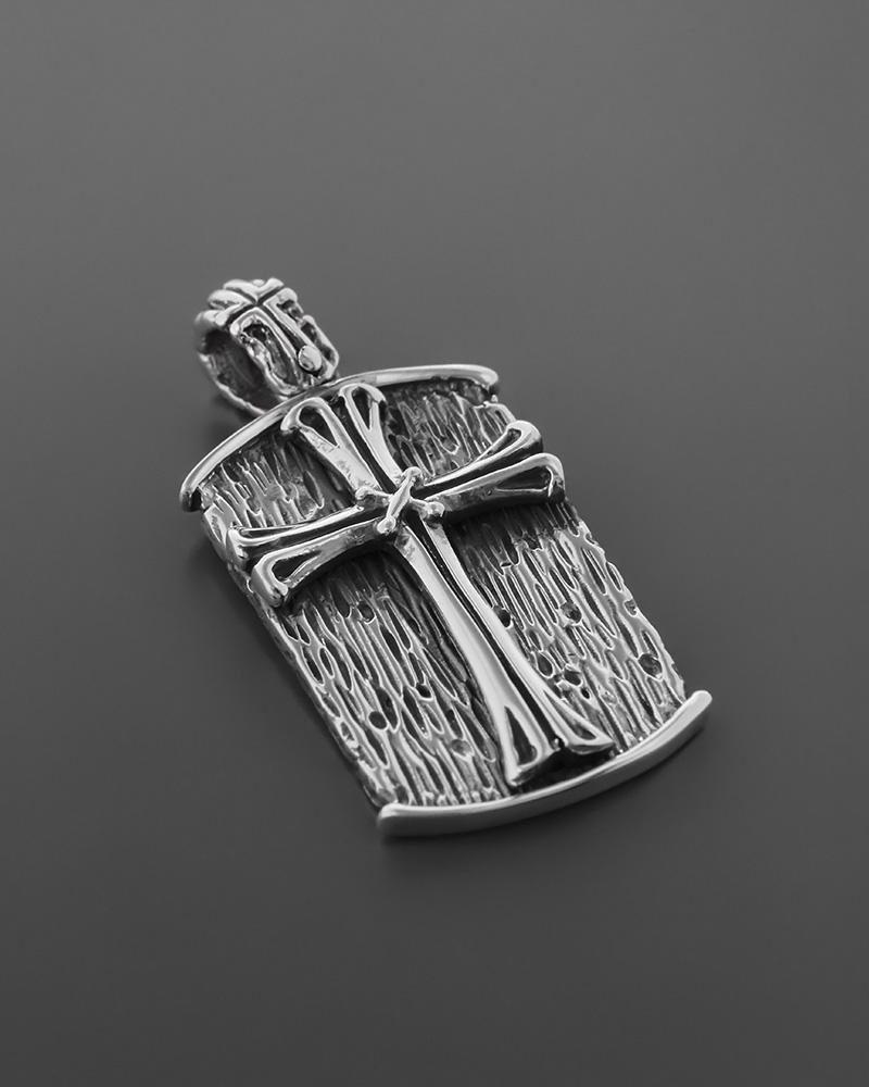 Ασημένιο κρεμαστό Σταυρός   κοσμηματα σταυροί σταυροί ασημένιοι