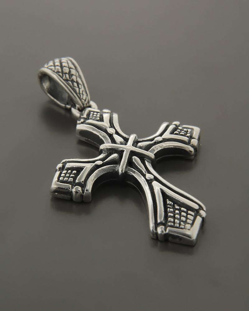 Ασημένιος Ανδρικός Σταυρός   κοσμηματα σταυροί σταυροί ανδρικοί