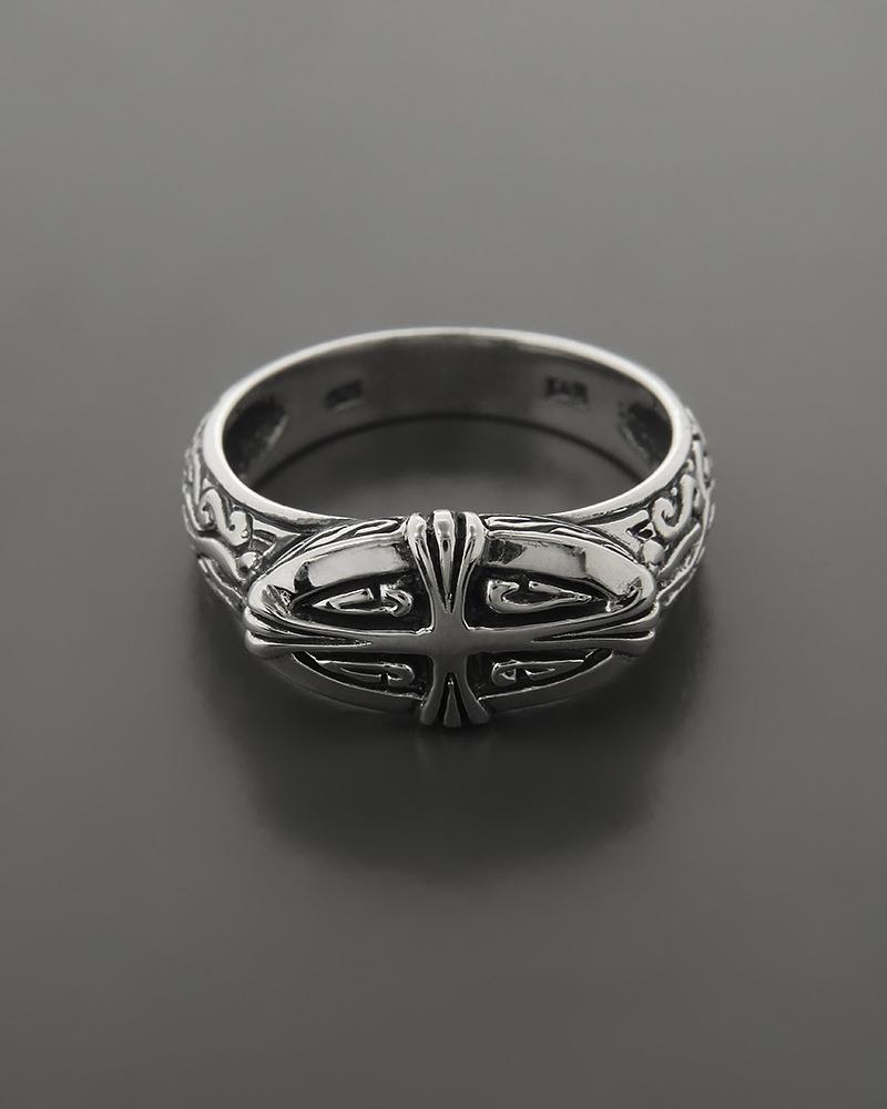 Ανδρικό ασημένιο δαχτυλίδι   ανδρασ δαχτυλίδια ανδρικά