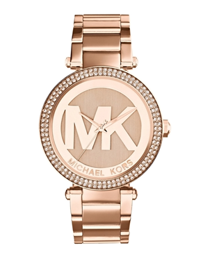 Ρολόι Michael Kors Crystals Rose Gold MK5865