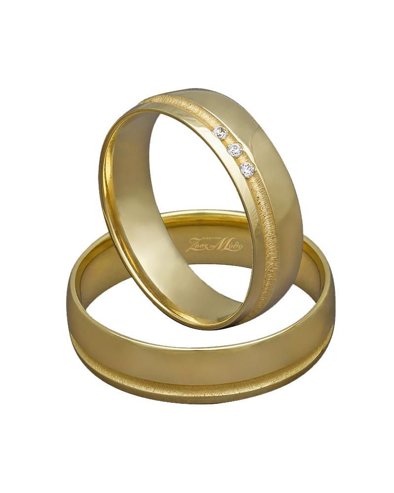 Βέρα χρυσή Κ14 με διαμάντια XV00303   ζησε το μυθο βέρες γάμου   αρραβώνα βέρες χρυσές