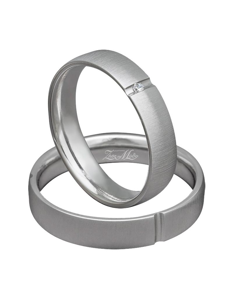 Βέρα χειροποίητη λευκόχρυση με διαμάντι XV00310   γαμοσ βέρες γάμου   αρραβώνα βέρες λευκόχρυσες
