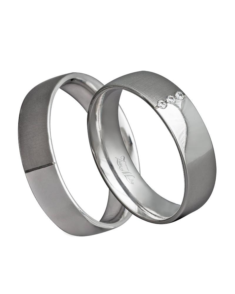 Βέρα χειροποίητη λευκόχρυση κ14 με διαμάντια XV00277   γαμοσ βέρες γάμου   αρραβώνα βέρες λευκόχρυσες