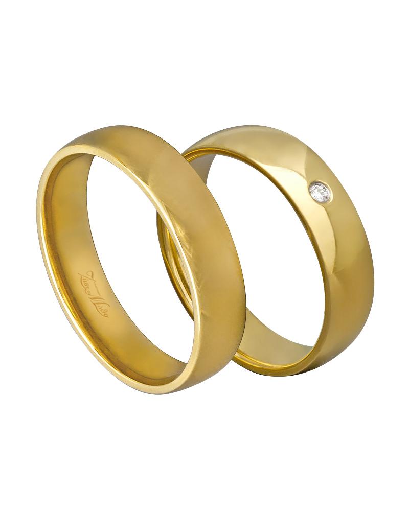 Χειροποίητη βέρα χρυσή κ14 με διαμάντι XV00269   γαμοσ βέρες γάμου   αρραβώνα βέρες χρυσές