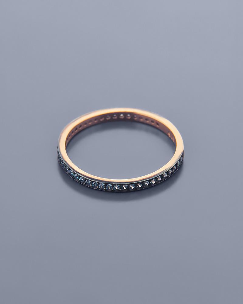 Δαχτυλίδι ροζ χρυσό Κ14 με Ζιργκόν   ζησε το μυθο βέρες γάμου   αρραβώνα βέρες ροζ χρυσές
