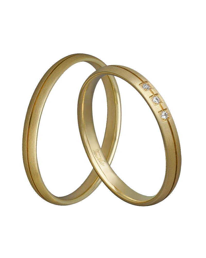 Βέρα χειροποίητη κ14 σε χρυσό με διαμάντια XV00346   γαμοσ βέρες γάμου   αρραβώνα βέρες χρυσές