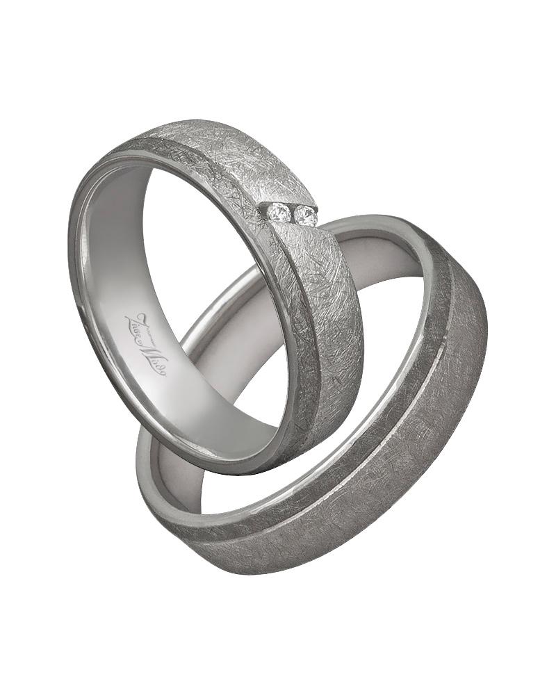 Βέρα χειροποίητη σε λευκόχρυσο κ14 με διαμάντια XV00368   γαμοσ βέρες γάμου   αρραβώνα βέρες δίχρωμες