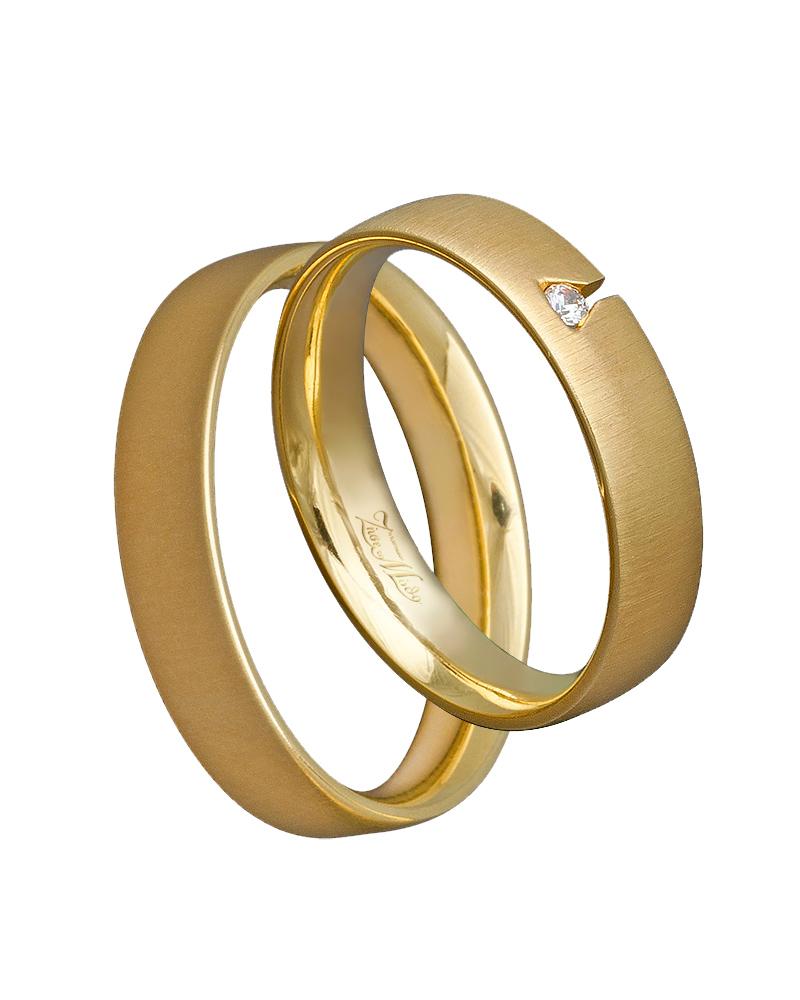 Βέρα χειροποίητη χρυσή κ14 με διαμάντι XV00407   γαμοσ βέρες γάμου   αρραβώνα βέρες χρυσές