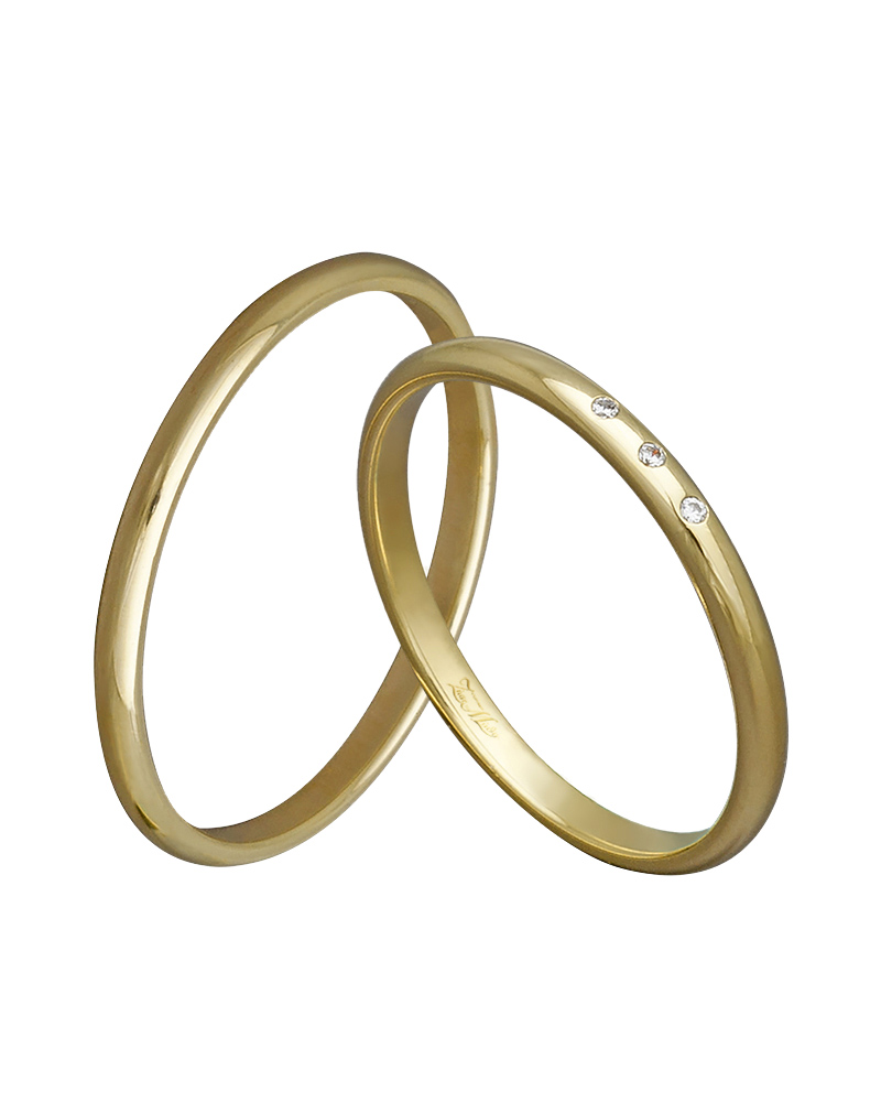 Βέρα χειροποίητη σε χρυσό κ14 με διαμάντια XV00343   γαμοσ βέρες γάμου   αρραβώνα βέρες χρυσές