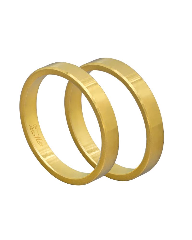Βέρα χειροποίητη K14 σε χρυσό XV00471   γαμοσ βέρες γάμου   αρραβώνα βέρες χρυσές