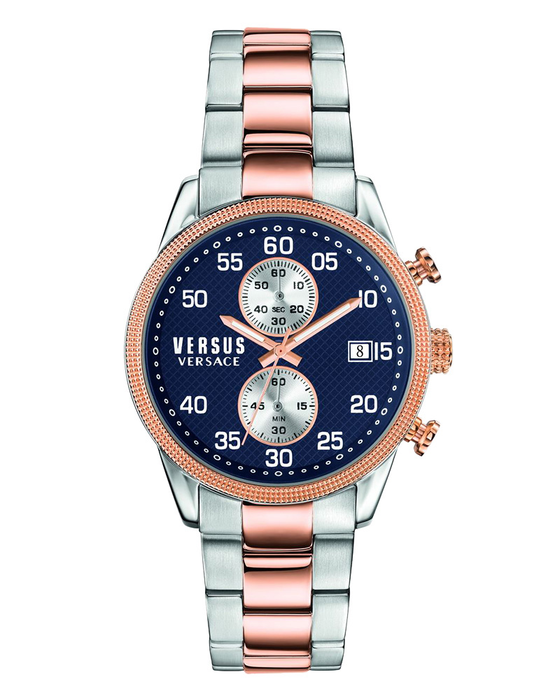 Ρολόι Versus Versace V-Shoreditch Chronograph Two Tone S66030016   brands versus versace