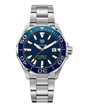 Ρολόι Tag Heuer Aquaracer Calibre 5 Automatic WAY201B.BA0927